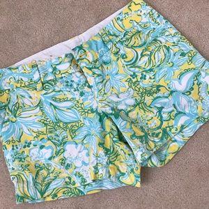 Lilly Pulitzer shorts- Beach Gypsies